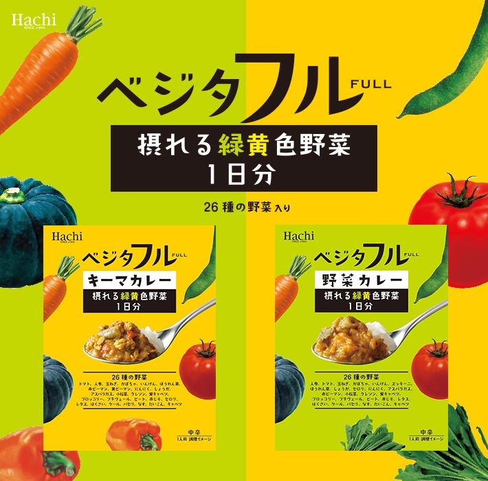 【ベジタフル】26種の野菜入り 野菜カレー 中辛/レトルトタイプ